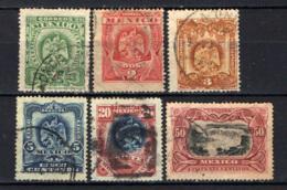 MESSICO - 1899 - Stemma Del Messico E Cascate Dello Juanacatlan - USATI - Messico
