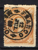 MESSICO - 1885 - HIDALGO 10 C. - USATO - Messico