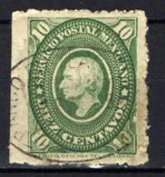 MESSICO - 1884 - HIDALGO - USATO - Messico