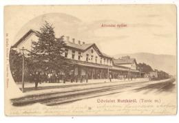 S7711 - Üdvözlet Ruttkarol (Turoc M.) - Slovacchia