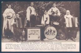 Musique Et Musiciens Troupe Fallone Accordéon - Musique Et Musiciens