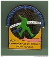 PETANQUE *** LA BOULE DE L'ESPOIR GRENOBLE 93 *** 1047 - Pétanque