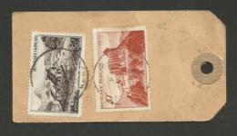 DOUBS /  BESANCON étiquette Paquet Recommandé 1949 / 50F Gerbier De Jonc & 20F Comminges - Marcophilie (Lettres)
