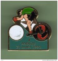 CYCLISME *** LE TOUR 91 *** ANDUZE 21 Juillet 91 *** 1047 - Ciclismo