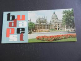 12.5) BUDAPEST 12 CARTOLINE NON VIAGGIATE PERFETTE ANCORA NELLA CONFEZIONE ORIGINALE - Ungheria