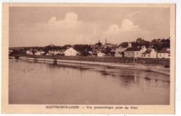 5546 - Mauves Sur Loire ( 44 ) - Vue Panoramique Prise Du Pont - éd. H. Vachon . - Mauves-sur-Loire