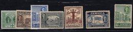 Jamaica, 1944, SG 134 - 140, Complete Set Of 7, MNH - Jamaïque (...-1961)