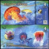 ATLANTIC OCEAN 4 DOLLAR 2016 UNC - Andere
