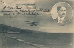 """R. LABOURET - Texte Et Signature AUTOGRAPHE Sur CP """" Hydro ASTRA - NIEUPORT """" Pionnier Aviateur - Flieger"""
