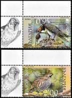 "BULGARIA /BULGARIE / BULGARIEN-EUROPA 2019 -NATIONAL BIRDS.-""AVES - BIRDS - VÖGEL -OISEAUX""-  SERIE De 2 V. CH - 2019"