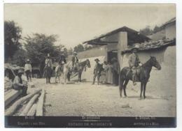 MEXICO - Estado De MICHOCAN - Llegando A Una Mina - Photo A. BRIQUET N°321 - Ancianas (antes De 1900)