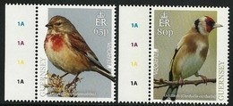 "GUERNSEY - EUROPA 2019 - NATIONAL BIRDS & SYMBOLISH.- ""AVES - BIRDS - VÖGEL - OISEAUX""- SERIE 2 V - LOGO EUROPA - 2019"