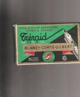 ***  BOITE DE 36 PLUMES *** Blanzy Conté Gilbert TRERAID  Fermé D'origine Et Donc Complete -plumes à Palette 2m/m TTBE - Plumes