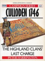 Osprey Campaign Series N° 12 - Culloden 1746 (TBE+) - Histoire