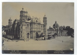 MEXICO - Alrededores De Mexico - Villa De Guadalupe - A. BRIQUET N° 107 Bis - Ancianas (antes De 1900)