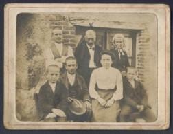 42 NOIRETABLE Rue De La Conche Mr Mme Marius Achard Marie Pauline Photo 9.5 X 12.5 Cm - Ancianas (antes De 1900)