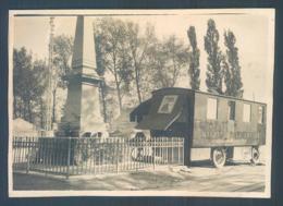 1930 Opticien Marchand Ambulant MONEREAU Photo Originale 5.5 X 8.5 Cm Lieu à Identifier Dept 69 71 42 - Places