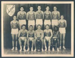 69 Villeurbanne ASVEL Champion De France De Basket Ball - Basketbal