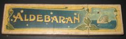 Ancienne Boîte Vide - Manufacture Des Crayons Le Cygne Nuremberg ALDEBARAN - 5 Scans - Other Collections