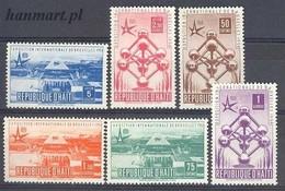 Haiti 1958 Mi 477-482 MNH ( ZS2 HAI477-482 ) - Haïti