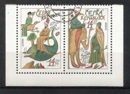 Tschechische Republik 1994  Mi.Nr. 36 / 37 , EUROPA CEPT - Entdeckungen Und Erfindungen - Gestempelt / Fine Used / (o) - Tschechische Republik