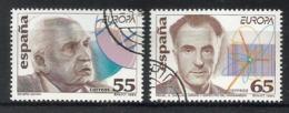 Spanien / Espana 1994  Mi.Nr. 3162 / 63 , EUROPA CEPT - Entdeckungen Und Erfindungen - Gestempelt / Fine Used / (o) - 1931-Heute: 2. Rep. - ... Juan Carlos I