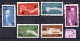 Bulgarie- Série De 6 Tps  N° 1224 à 1229 ( 6 Valeurs ) -.sports Divers.... Neufs  Sans Charnière...à Saisir - Bulgaria