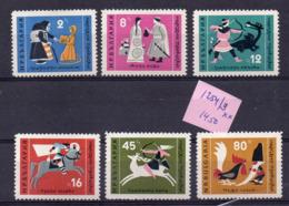 Bulgarie- Série De 15  Tps  N° 1282  à 1294 ( 15 Valeurs ) -.............. Neufs  Sans Charnière...à Saisir - Bulgaria