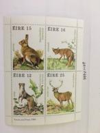 Ireland Wildlife S/s Mnh 1980 - 1949-... Republic Of Ireland