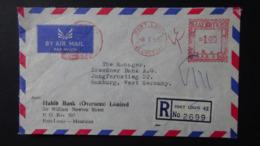 Mauritius - 1968 - Freistempel - +1.90 - 8.1.68 Port Louis - Registered Mail - Look Scan - Mauritius (1968-...)