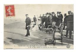 Cherbourg - Visite De S.M. Le Tsar Suivant Les évolutions Des Sous-Marins - Cherbourg