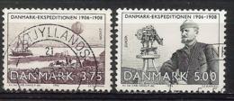 Dänemark / Danmark 1994  Mi.Nr. 1077 / 1078 , EUROPA CEPT  Entdeckungen Und Erfindungen - Gestempelt / Fine Used / (o) - Dänemark