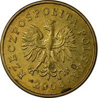 Monnaie, Pologne, 2 Grosze, 2006, Warsaw, TB+, Laiton, KM:277 - Pologne