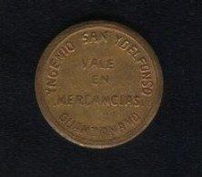Caribe  / Cuba TOKEN YNGENIO SAN YDELFONSO GUANTANAMO 5 CENTAVOS Laton 21 Mm - Tokens & Medals