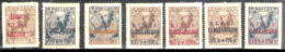 7386  Russia Yv 157-58 - Hinged - Two Stamps Without Gum - 2,25 (8) - Neufs