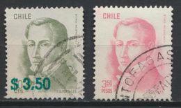 °°° CILE CHILE - Y&T N°510/17 - 1979 °°° - Cile