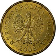 Monnaie, Pologne, 2 Grosze, 2008, Warsaw, TB+, Laiton, KM:277 - Pologne
