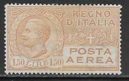 Italy Scott # C8 Mint Hinged Posta Aerea, 1926, CV$19.00 - 1900-44 Vittorio Emanuele III