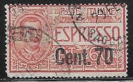 Italy Scott # E13 Used Postage Due, Surcharged, 1925 - Express Mail