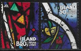 Iceland Scott # 1324-5 Used Christmas, 2013 - 1944-... Republic