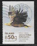 Iceland Scott # 1327 Used Flying Eagle, 2014 - 1944-... Republic