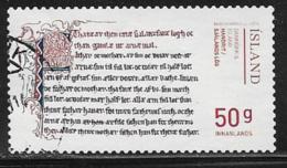 Iceland Scott # 1351 Used Law Of Zealand, 2014 - 1944-... Republic