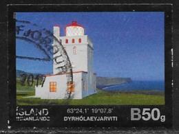 Iceland Scott # 1354 Used Lighthouse, 2014 - 1944-... Republic