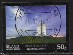 Iceland Scott # 1380 Used Lighthouse, 2015 - 1944-... Republic