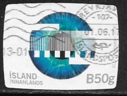 Iceland Scott # 1413 Used Television Network, 2016 - 1944-... Republic