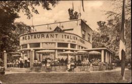 """Laeken :Restaurant Italien (Ex-Viking) - Dégustation Des Galces Italiennes - Av Du Hallier - """"Près De La Tour Italienne"""" - Laeken"""