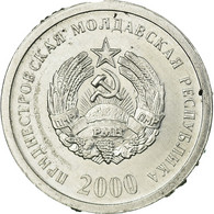 Monnaie, Transnistrie, Kopeek, 2000, TTB, Aluminium, KM:1 - Moldavie