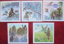 Russia  1999  5 V  MNH - Briefmarken