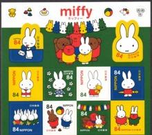(ja1302) Japan 2019 Miffy 84y MNH - 1989-... Emperor Akihito (Heisei Era)