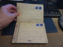 LOT D'ENVIRON 10 Lettres De CENSURE 1939/1945 Et Assimilées Guerre ,certaines Avec Contenue - Norvège